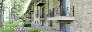 Brookview Apartment Complex, Managed by S&S Property Management